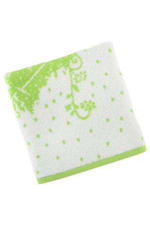 Полотенце для рук, 50х100 Beverly Hills Polo Club. Цвет: white and green