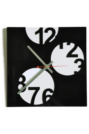 Часы Прятки W-ERA. Цвет: черный, белый