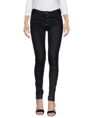 Джинсовые брюки REIKO. Цвет: черный
