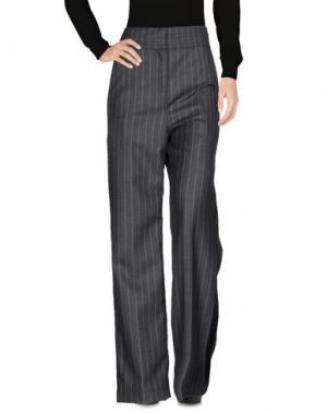 Повседневные брюки LOEWE. Цвет: свинцово-серый