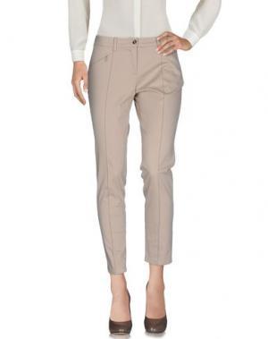 Повседневные брюки CONTE OF FLORENCE. Цвет: песочный
