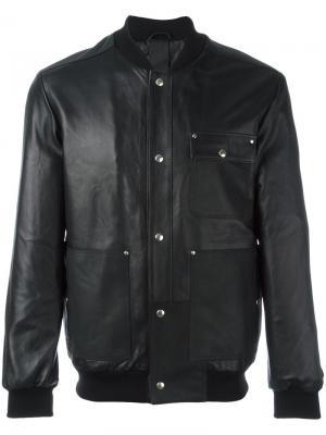 Куртка-бомбер Hypepusher Omc. Цвет: чёрный