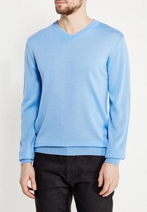 Пуловер Modis. Цвет: голубой