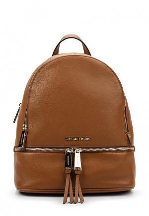 Рюкзак Michael Kors. Цвет: коричневый