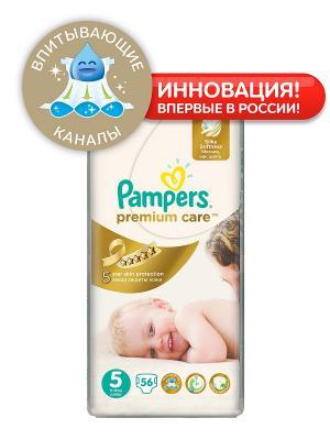 Подгузники Pampers Premium Care, 11-18 кг, 56 шт.. Цвет: белый