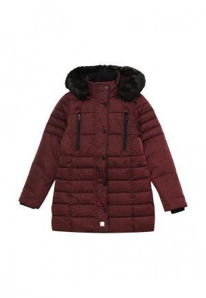 Куртка утепленная s.Oliver. Цвет: бордовый