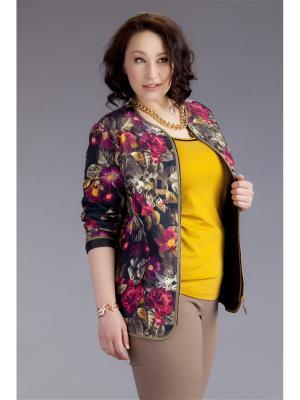Куртка AVERI. Цвет: сливовый, молочный, темно-зеленый
