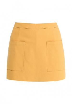 Юбка-шорты Concept Club. Цвет: желтый