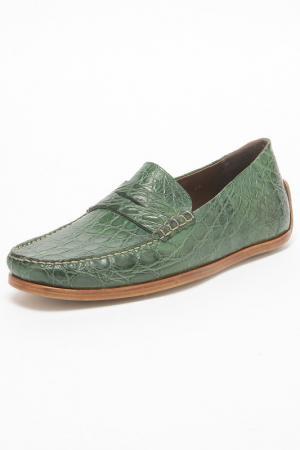 Мокасины Zonkey Boot. Цвет: зеленый
