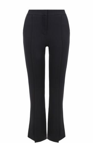 Укороченные расклешенные брюки со стрелками Dorothee Schumacher. Цвет: темно-синий