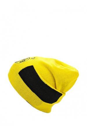 Шапка Puma. Цвет: желтый