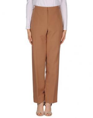 Повседневные брюки FONTANA COUTURE. Цвет: верблюжий