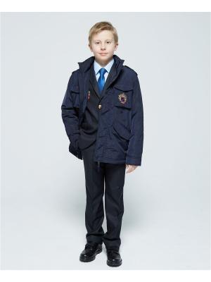 Куртка Briton. Цвет: темно-синий