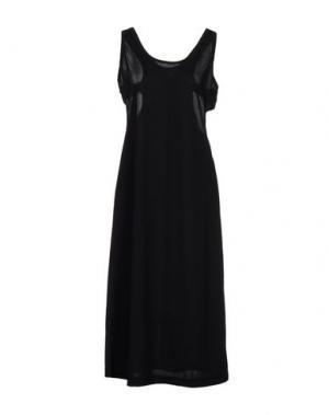 Платье длиной 3/4 COMME DES GARÇONS. Цвет: черный