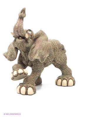 Фигурка Слон большая Sealmark. Цвет: серо-коричневый