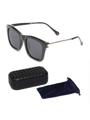 Очки солнцезащитные + чехол футляр Prius. Цвет: черный
