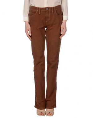 Повседневные брюки JAGGY. Цвет: коричневый