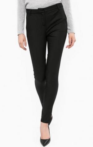 Черные зауженные брюки LERROS. Цвет: черный