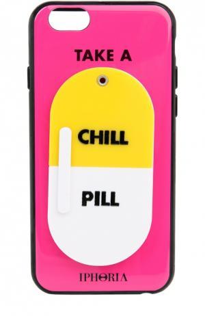 Чехол для iPhone 6 с декоративной отделкой Iphoria. Цвет: розовый