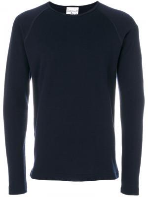 Пуловер с круглым вырезом Force S.N.S. Herning. Цвет: синий