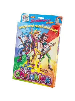 Набор для творчества Подарочный Клевые девченки Манга Светлячок. Цвет: голубой, желтый