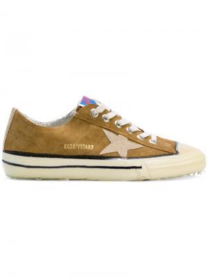 Кроссовки VStar 2 Golden Goose Deluxe Brand. Цвет: коричневый