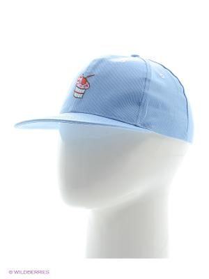 Кепка Кексик (голубая) Kawaii Factory. Цвет: голубой