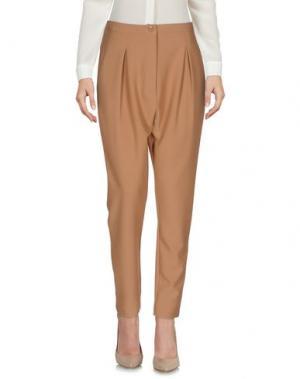 Повседневные брюки BERNA. Цвет: верблюжий