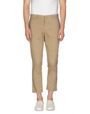Повседневные брюки MC MASTER OF CEREMONIES. Цвет: бежевый