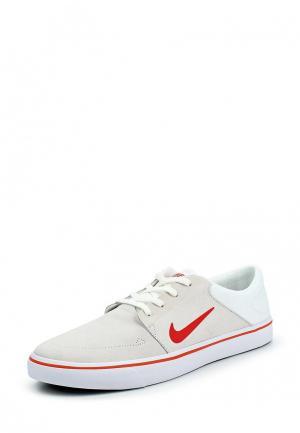 Кеды Nike. Цвет: бежевый