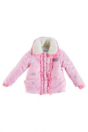 Пуховик Bodi Bear. Цвет: розовый