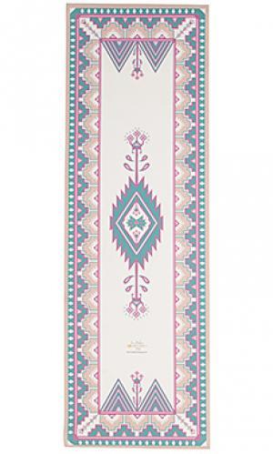 Коврик для йоги marrakesh La Vie Boheme Yoga. Цвет: белый