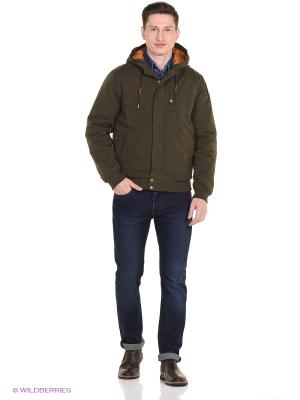 Куртка PEPE JEANS LONDON. Цвет: темно-коричневый