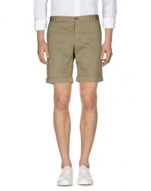 Повседневные шорты BASICON. Цвет: зеленый-милитари