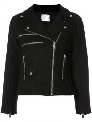 Байкерская куртка Anine Bing. Цвет: чёрный