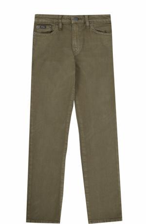 Джинсы прямого кроя Polo Ralph Lauren. Цвет: зеленый