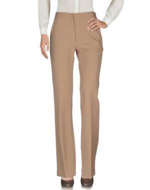 Повседневные брюки AQUILANO-RIMONDI. Цвет: песочный