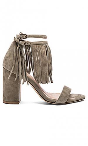 Обувь на каблуке loni RAYE. Цвет: оливковый