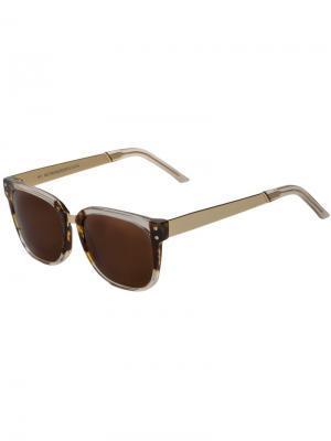 Солнцезащитные очки  People Francis Retrosuperfuture. Цвет: белый