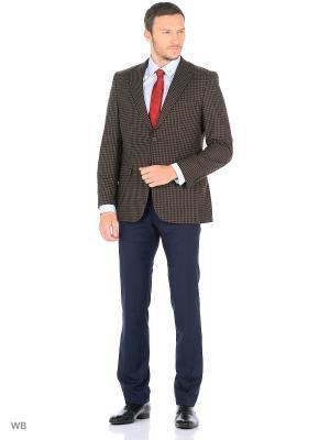 Пиджак lawiggi. Цвет: коричневый