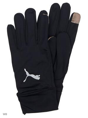 Перчатки PR Performance Gloves PUMA. Цвет: черный