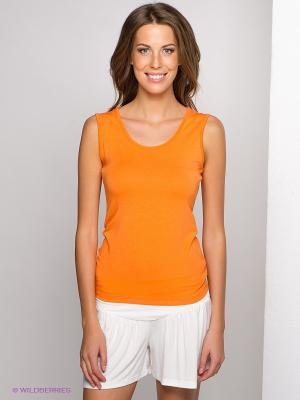 Топ LingaDore. Цвет: оранжевый