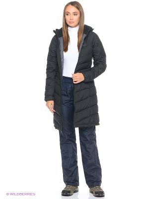 Пальто SELENIUM COAT Jack Wolfskin. Цвет: черный