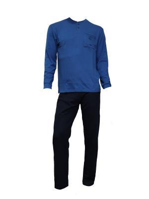 Пижамы Navigare. Цвет: синий