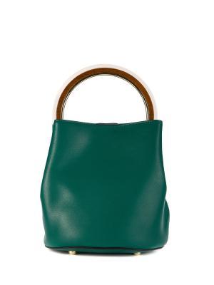 Сумка Marco Bonne`. Цвет: зеленый