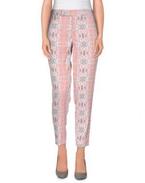 Повседневные брюки TOM REBL. Цвет: лососево-розовый