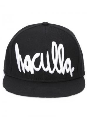 Кепка с принтом-логотипом Haculla. Цвет: чёрный