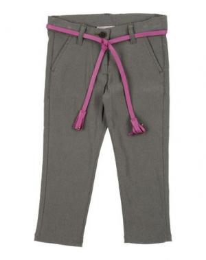 Повседневные брюки MONNALISA. Цвет: серый