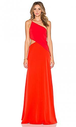 Вечернее платье JILL STUART. Цвет: оранжевый