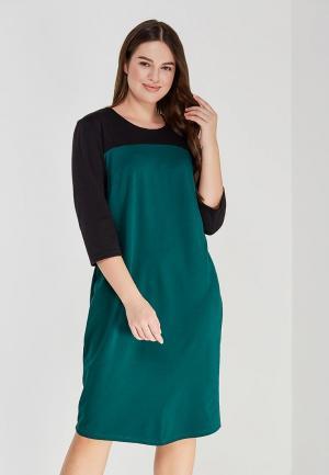 Платье XLady. Цвет: зеленый